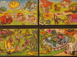 24. Puzzle Spielzeug 2 Serie 1998 K 99n124, N125, N126, N127 - Puzzles