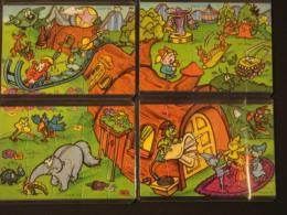 25. Puzzle Spielzeug 2 Serie 1999 K00n112, N113, N114, N115 - Puzzles
