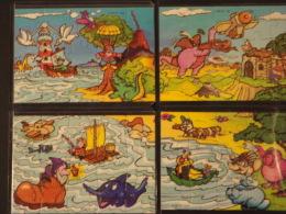 26. Puzzle Spielzeug 1 Serie 1998 K99n120,n121, N122, N123 - Puzzles
