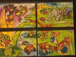 27 Puzzle Spielzeug 1 Serie 1999 K00n108, N109, N110, N111 - Puzzles