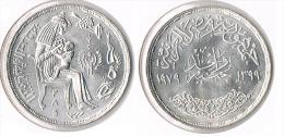 Egipt 1 Pound 1979-FAO- Silver - Egypt
