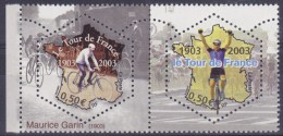 France 2003 Centenaire Tour De France Bicycle Velo Fahrrad Fiets - Cycling