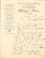 Vieux Papier - Drôme - 26 - Hostun - Carrière De Koalin Pour Porcelaine Et Faïence - Grés - F. Palayer - Septembre 1904 - Sin Clasificación