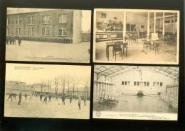 Beau lot de 60 cartes postales de casernes caserne soldats soldat   Mooi lot van 60 postkaarten van kazerne soldaat