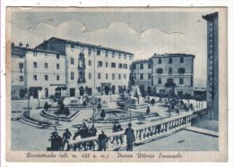 GROSSETO - ROCCASTRADA - PIAZZA VITTORIO EMANUELE - Grosseto