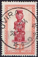 BELGIAN CONGO # STAMPS FROM YEAR 1947  STANLEY GIBBONS 283