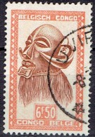 BELGIAN CONGO # STAMPS FROM YEAR 1947  STANLEY GIBBONS 287a
