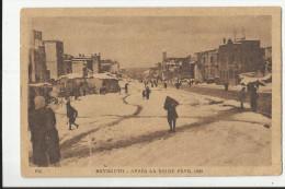 BEYROUTH , APRES LA NEIGE , FEVRIER 1920