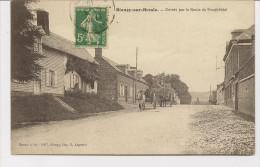 Blangy-sur Bresle  Entrée Par La Route De Neuchatel - Other Municipalities