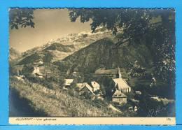 CP, 38, ALLEMONT Vue Générale, Ecrite En 1958 - Allemont