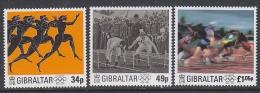 Gibraltar 1996 Modern Olympic Games 3v ** Mnh (T970) - Gibilterra