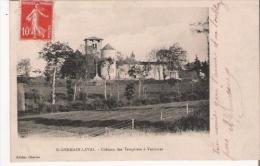 ST GERMAIN LAVAL CHATEAU DES TEMPLIERS A VERRIERES - Saint Germain Laval