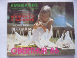 OBERTHUR : Catalogue de calendriers almanachs de P.T.T. ann�e 1986.