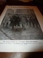 1914  GUERRE MONDIALE : Roi et reine de BELGIQUE devant ses troupes ;FURNES;Notre 75 et leur 77; ZISLIN � DANNEMARIE