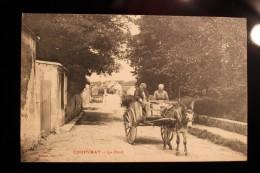 BB - 77 - COUPVRAY - Attelage D´ANE Sur Le Pont - France