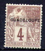 GUADELOUPE - N° 16(*) - TYPE ALPHEE DUBOIS - Unused Stamps