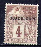 GUADELOUPE - N° 16(*) - TYPE ALPHEE DUBOIS - Neufs