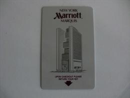 Hotel Marriott Keycard - Hotelkarten