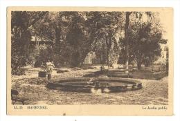 Cp, 17, Marennes, Le Jardin Public - Marennes