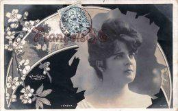 CPA Fantaisie Jolie Fille Jeune Femme Artiste - Artist Pretty Woman Véréna Par Reutlinger Paris - Art Nouveau  - 1906 - Artistes