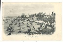 Cp, Ecosse, Portobello, The Beach, Voyagée 1902 - Midlothian/ Edinburgh