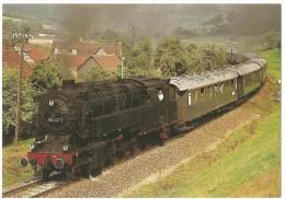 TRAIN Allemagne - EISENBAHN Deutschland - QUITTELSDORF - Güterzug Tenderlokomotive 95 1027-2 - Trains