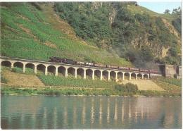 TRAIN Allemagne - EISENBAHN Deutschland - PÜNDERICH - Dampf-Güterzuglokomotive Der Baureihe 44 - Trains