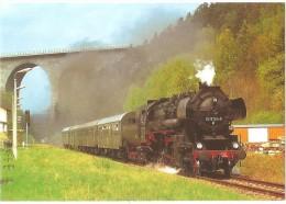 TRAIN Allemagne - EISENBAHN Deutschland - PIRK - Dampflokomotive 52 8154-8 - Gares - Avec Trains