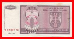 KNIN 50000000 DIN 1993 - Croatie