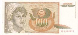 Yougoslavie - 100 Dinar Dinara - Yougoslavie