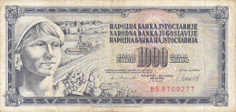 Yougoslavie - 1000 Dinar Dinara (1981) - Yougoslavie