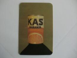 Drink Kas Laranja Portuguese Pocket Calendar 1987/1988