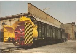 TRAIN Allemagne - EISENBAHN Deutschland - OFFENBURG - Dampf-Schneeschleuder 947 5 160-6 - Trains