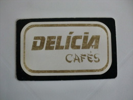 Drink Torrefaction Coffee/Caf�/Caffe Del�cia Portuguese Pocket Calendar 1992