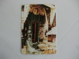 Drink Torrefaction Coffee/Caf�/Caffe Brasileira de Lisboa Portuguese Pocket Calendar 1993