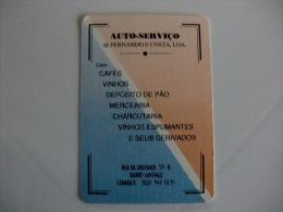 Drink Torrefaction Coffee/Caf�/Caffe Fernando e Costa Lda Portuguese Pocket Calendar 1990