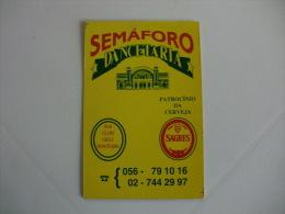 Drink Beer Sagres  Portuguese Pocket Calendar 1993