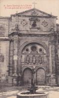 España--Santo Domingo De La Calzada--1909---Entrada Principal De La Catedral--Fechador--Santo Domingo De La Calzada - La Rioja (Logrono)