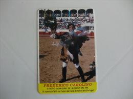 Tauromaquia Frederico Carolino Portuguese Pocket Calendar 1990