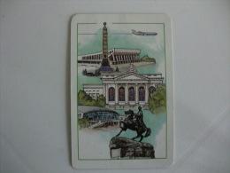 Aeroflot Soviet Airlines Pocket Calendar 1988