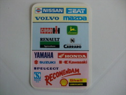 Shell Portugal Portuguese Pocket Calendar 1990