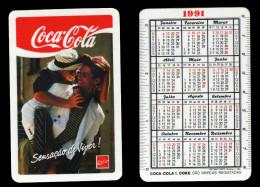 Calendar pocket 1991 - COCA-COLA - edited in Portugal