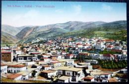 LIBAN  ZAHLE  VUE GENERALE  1929