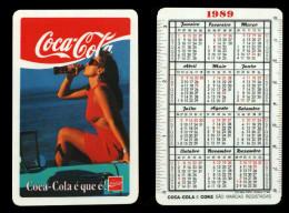 Calendar pocket 1989 - COCA-COLA - edited in Portugal