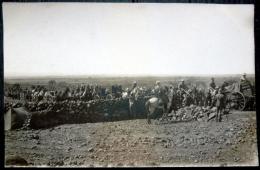 LIBAN   CARTE PHOTO MILITAIRES EN CAMPAGNE VERS 1929