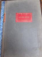 Registre GRAND LIVRE : 325 Pages (Doit/Avoir) + Répertoire , Relié Toile 34x24 Cm (écritures Sur 18 Lignes) Début Du Si - Non Classificati
