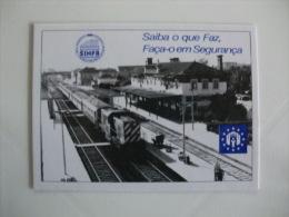 Train Railway Syndicate Portuguese Pocket Calendar 1992/1993