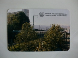 Train Railway Syndicate Portuguese Pocket Calendar 1994