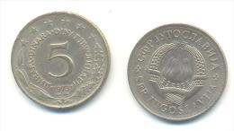 JUGOSLAVIA 5 DINARA ANNO 1973 - Yugoslavia