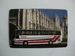 Autobus Bus Autocarro Transunidos Portuguese Pocket Calendar 1995